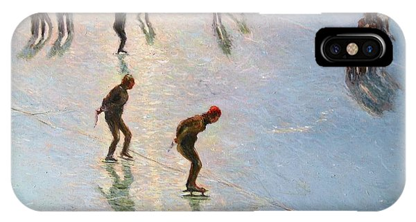 Skating In The Sunset  IPhone Case