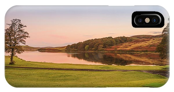 Skeabost House Hotel Golf Course IPhone Case