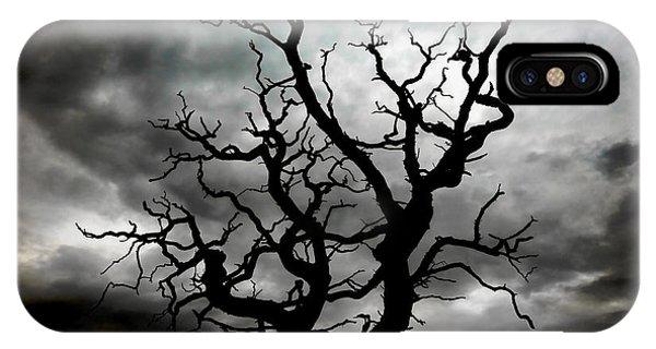 Skeletal Tree IPhone Case
