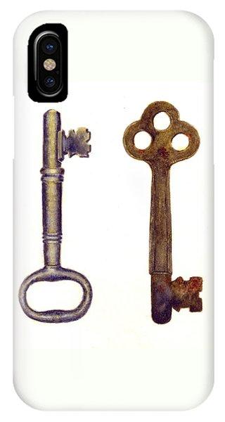 Skeleton Keys IPhone Case
