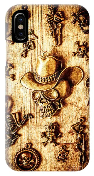 Steel iPhone Case - Skeleton Pendant Party by Jorgo Photography - Wall Art Gallery