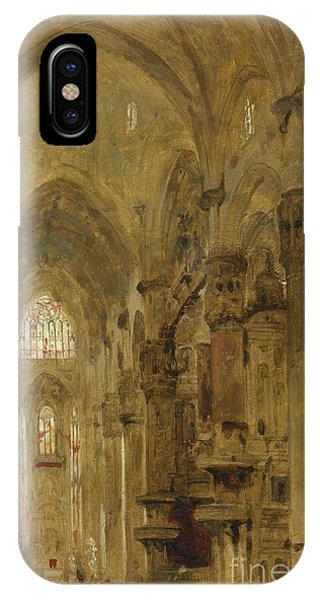 Sketch Of The Interior Of The Duomo IPhone Case