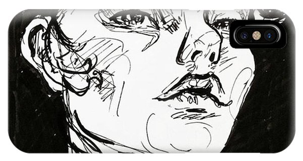 iPhone Case - Sketchbook Scribbles by Faithc Original Artwork