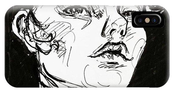iPhone Case - Sketchbook Scribbles by Faithc Original Artwork