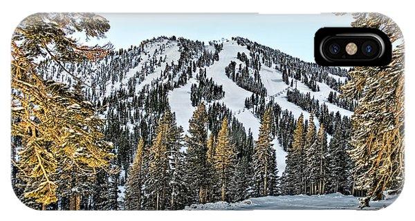 Ski Runs IPhone Case