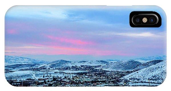 Ski Town IPhone Case