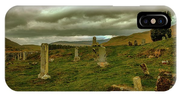 Skies And Headstones #g9 IPhone Case