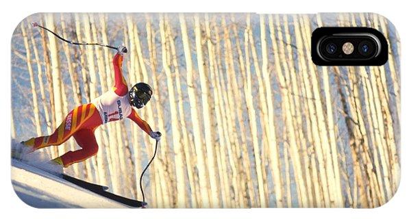 Skiing In Aspen, Colorado IPhone Case