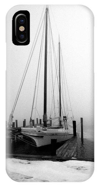 Skipjack iPhone Case - Skipjack Bnw by Skip Willits