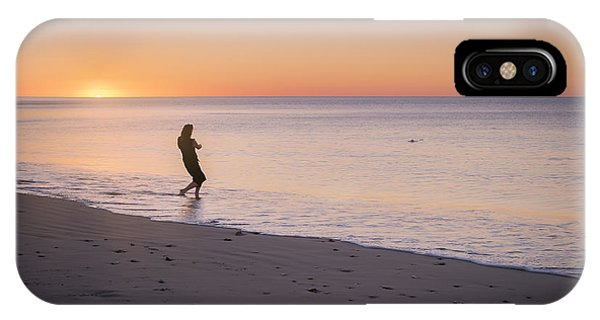 IPhone Case featuring the photograph Skipping Stones by Ray Warren