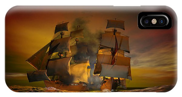 Danger iPhone Case - Skirmish by Carol and Mike Werner