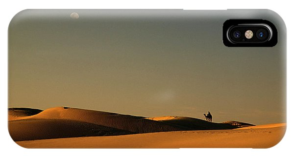 Skn 1117 Camel Ride At 6 IPhone Case