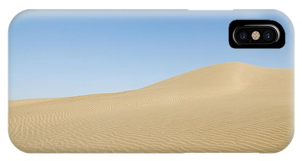 Skn 1412 Ripples On The Slope IPhone Case