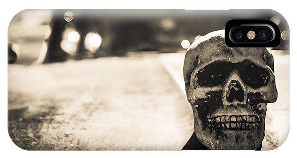 Skull Car IPhone Case