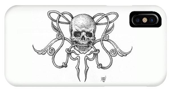 Skull Design IPhone Case