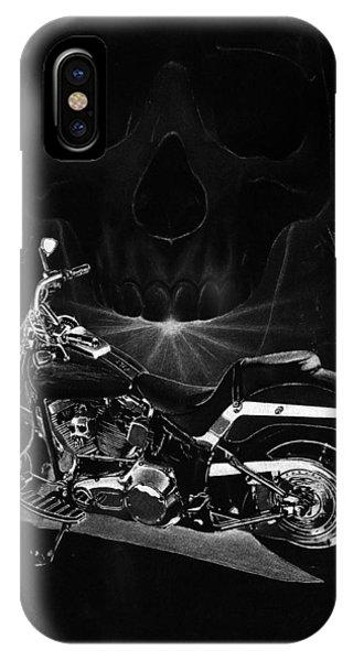 Skull Harley IPhone Case