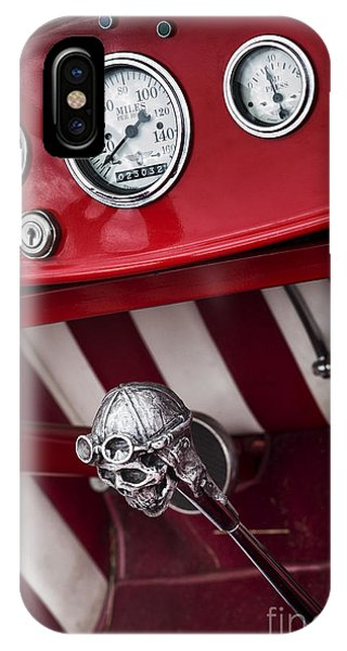 Skull Shifter Phone Case by Tim Gainey