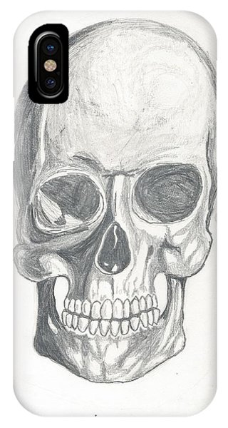 Skull Study 2 IPhone Case