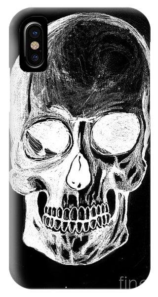 Skull Study 3 IPhone Case