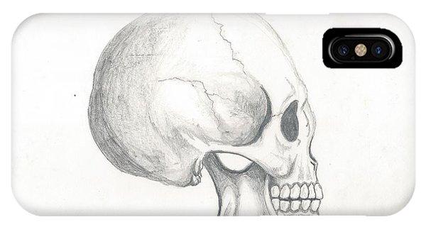 Skull Study IPhone Case