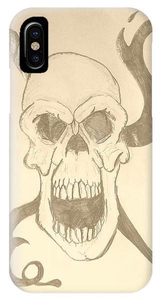Skull Tattoo IPhone Case