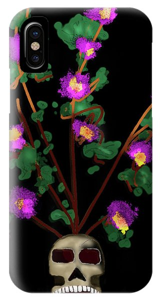 Skull Vase IPhone Case