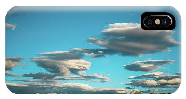 Kora iPhone Case - Sky And Clouds Garuda Valley Tibet Yantra.lv by Raimond Klavins