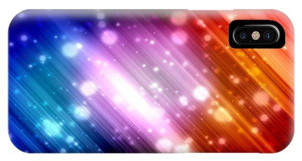Sky Beams IPhone Case