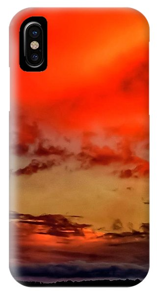 IPhone Case featuring the photograph Sky Drama  by Cliff Norton