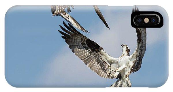 Sky Duel IPhone Case