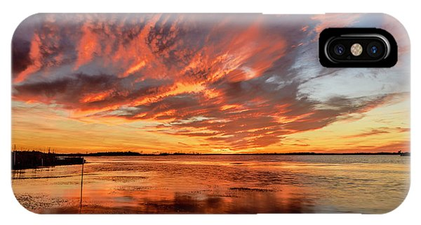 Sky Fire IPhone Case