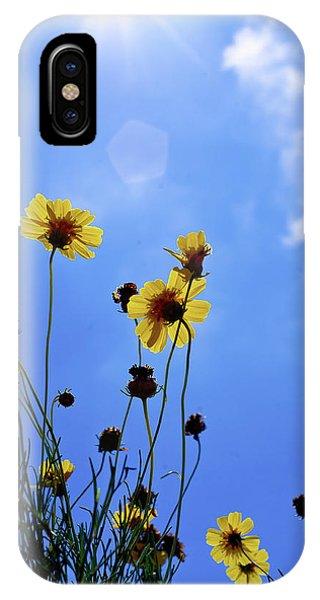 Sky Flowers IPhone Case