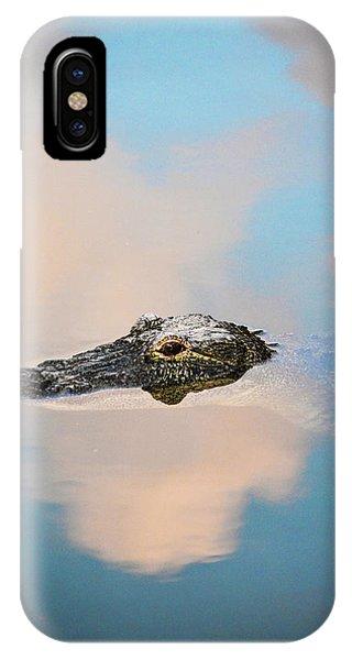 Sky Gator IPhone Case