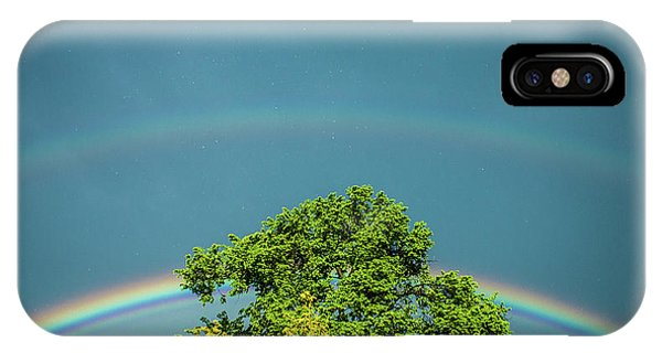 IPhone Case featuring the photograph Sky Is Falling by Tyson Kinnison