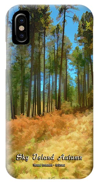 Sky Island Autumn IPhone Case