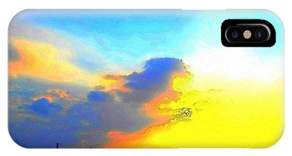 iPhone Case - Sky by Kumiko Izumi