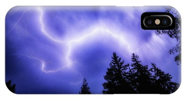 Sky Lightning IPhone Case