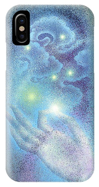Sky Mudra IPhone Case