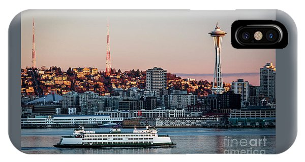 Space Needle.seattle,washington IPhone Case