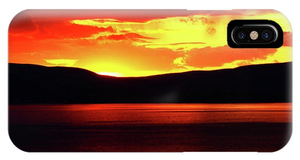 Sky Of Fire IPhone Case