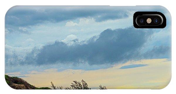 Sky Over Maceneta Beach Mozambique IPhone Case