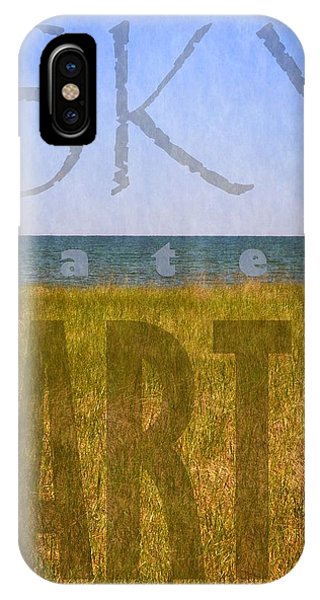 Sky Water Earth 2.0 IPhone Case