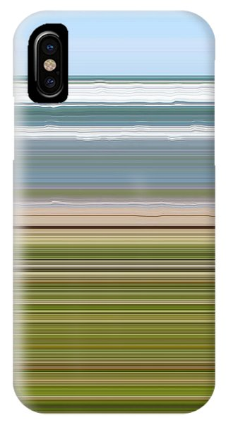 Lake Superior iPhone Case - Sky Water Earth Grass by Michelle Calkins