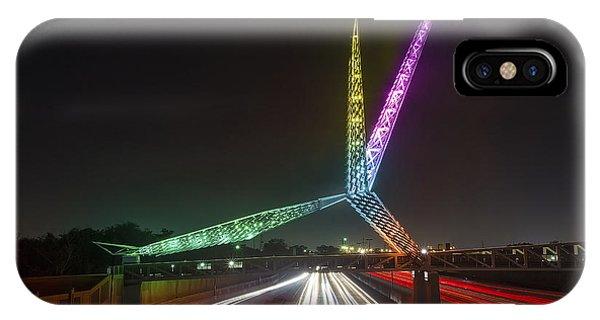 Skydance Bridge Okc IPhone Case