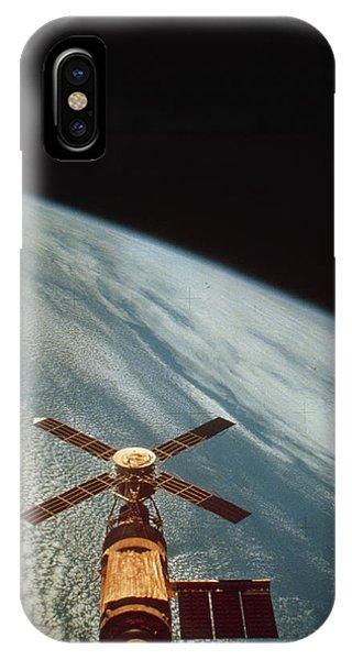 Skylab 1 Space Station In Orbit. Phone Case by Nasa