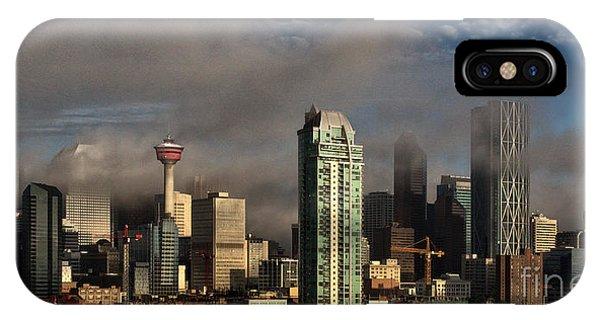 Skyline Fog IPhone Case