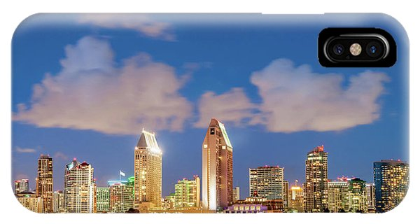 Skyline In The Wind IPhone Case