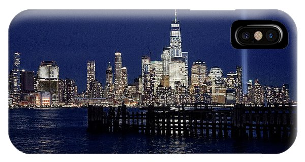 Skyline Lights IPhone Case