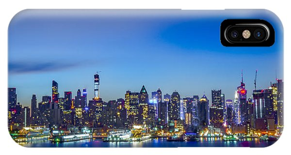 Skyline Nyc Before Sunrise IPhone Case