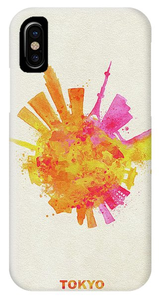 Skyround Art Of Tokyo, Japan  IPhone Case